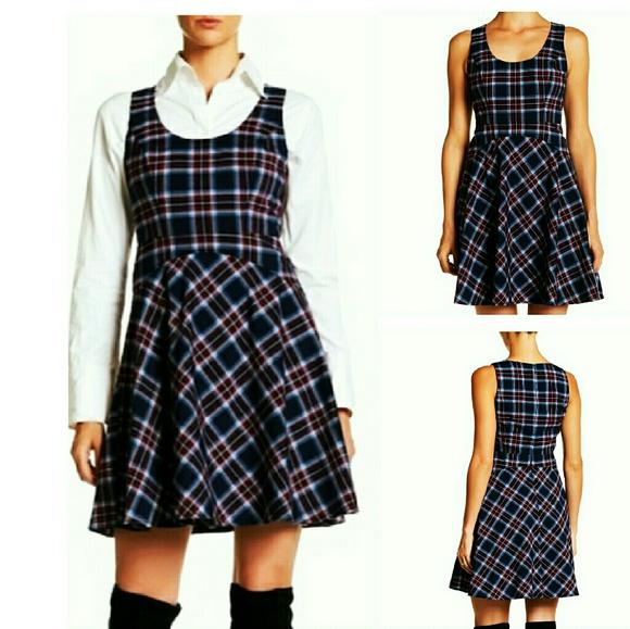 Donna Morgan Dresses & Skirts - Donna Morgan plaid skater style dress